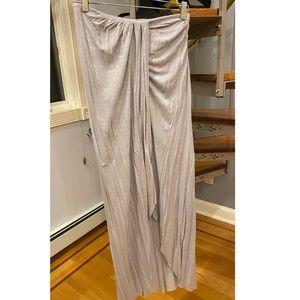 Free people maxi skirt small grey